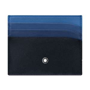 Kreditkartenetui 6 Kk marineblau