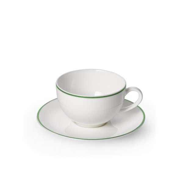 Kaffeetasse m. U. rund 0,25 l grün