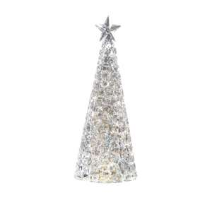Tischleuchte Weihnachtsbaum 33x12,5 cm Acryl