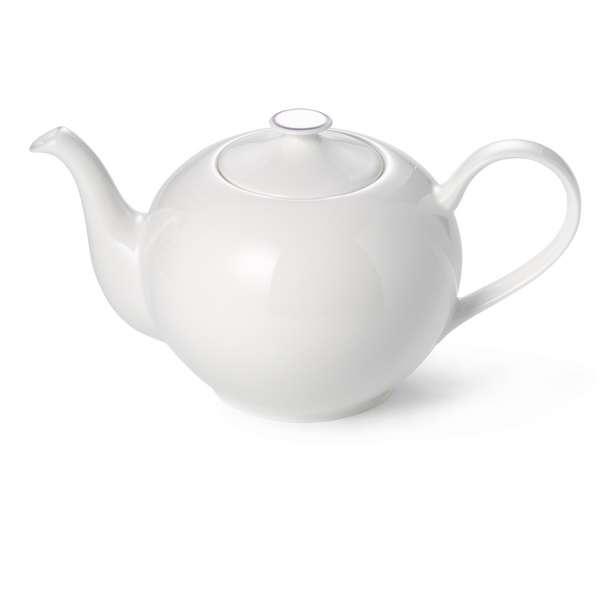 Teekanne rund 1,30 l grau
