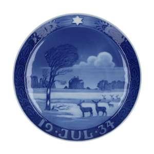 Weihnachtsteller 1934, 18 cm