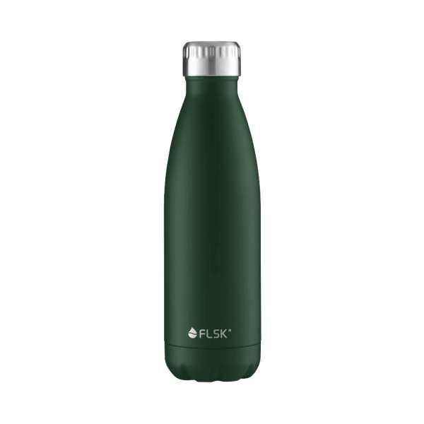 Isolierflasche 0,50 l dunkelgrün