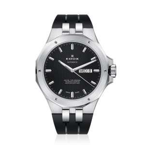 Armbanduhr Delfin Automatik Edelstahl/schwarz