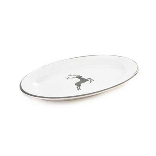 Platte oval 21 cm/Saucieren-Untere