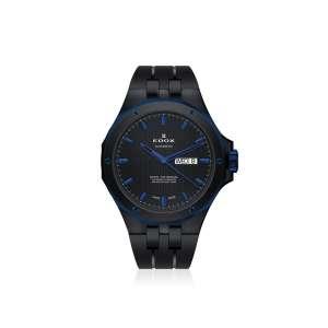 Armbanduhr Delfin Automatik blau/schwarz