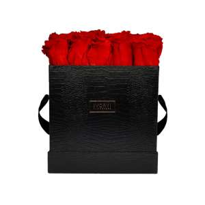 Flowerbox extra large, romantic red