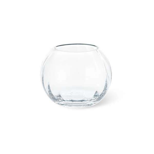 Teelicht 10,5 cm klar