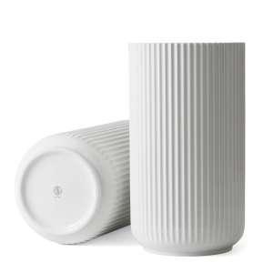 Vase 38 cm weiß