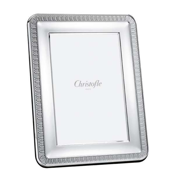 Christofle Malmaison Picture Frame 9x13 Cm Silver Plated