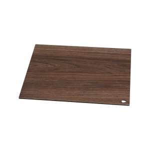 Schneid- und Servierbrett 25x16 cm kompakt Laminat Walnuss