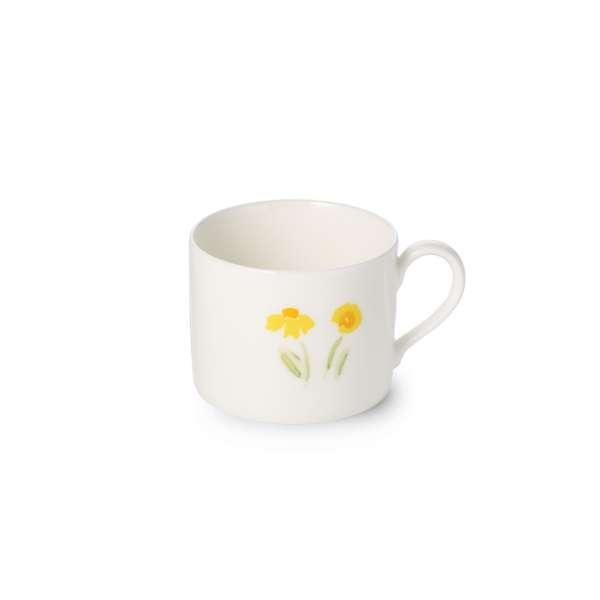 Kaffee-Obere zyl. 0,25 l gelb