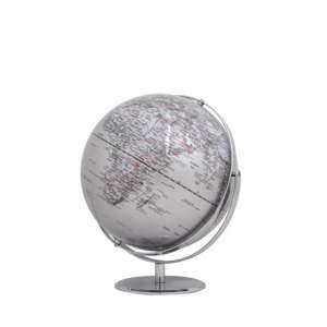 Globus 2-achsig drehbar silber