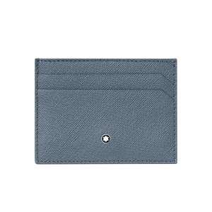 Kreditkartenetui 5 Kk  jeansblau/schwarz