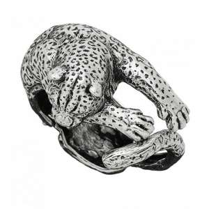 Armband Leopard Silber 925/-