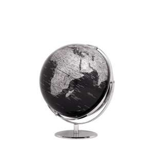 Globus 2-achsig drehbar schwarz