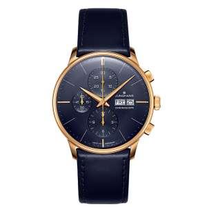 Armbanduhr Meister Chronoscope PVD blau