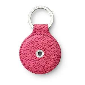 Schlüsselanhänger rund electric pink