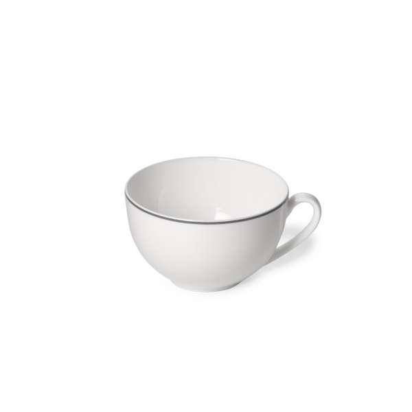 Kaffee-Obere rund 0,25 l grau