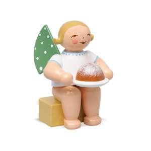 Engel klein, m. Kuchen