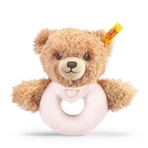 Greifring Bär Schlaf Gut 12 cm, rosa