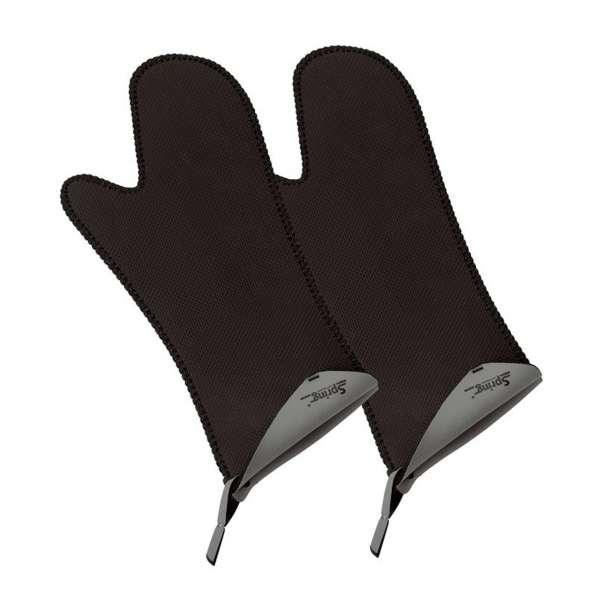 Handschuh lang grau 1 Paar