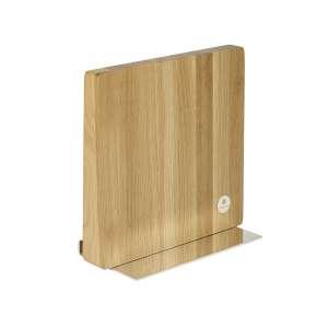 Messer-/Kochbuch-/iPad-halter Eiche versilbert