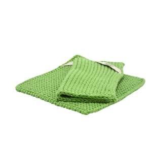 Topflappen (Paar) grün