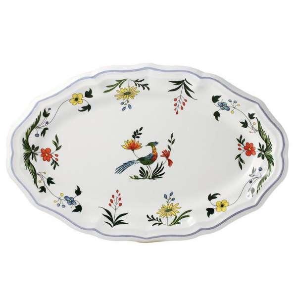 Platte oval 41x26,2 cm