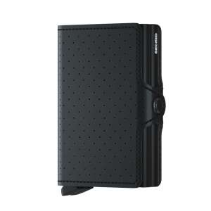 Twinwallet Perforated black