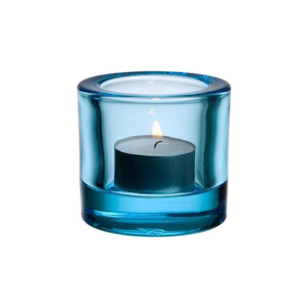Windlicht 6 cm hellblau