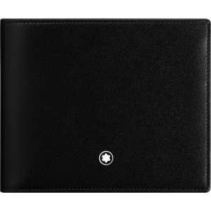 Brieftasche 10 cc m. Münzfach, schwarz