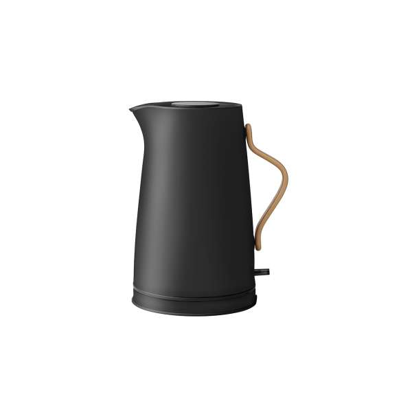 Wasserkocher 1,20 l elektrisch schwarz matt