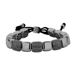 Armband Schwarz Zirkonia Sterlingsilber