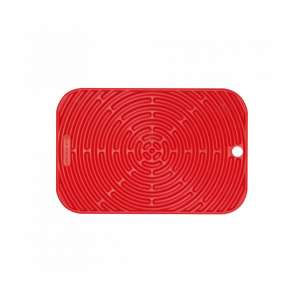 Silikon Topflappen rechteckig rot