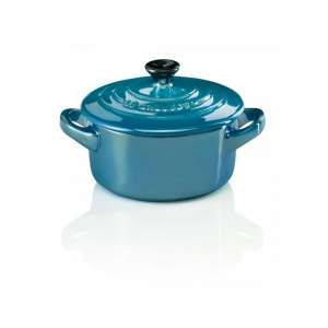Mini-Cocotte metallics deep teal