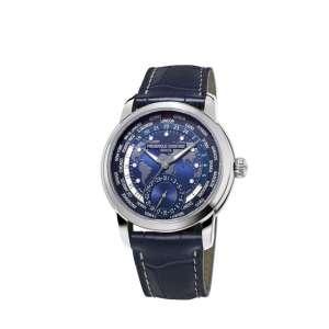 Armbanduhr Maxime Manufaktur Automatik Worldtimer Edelstahl