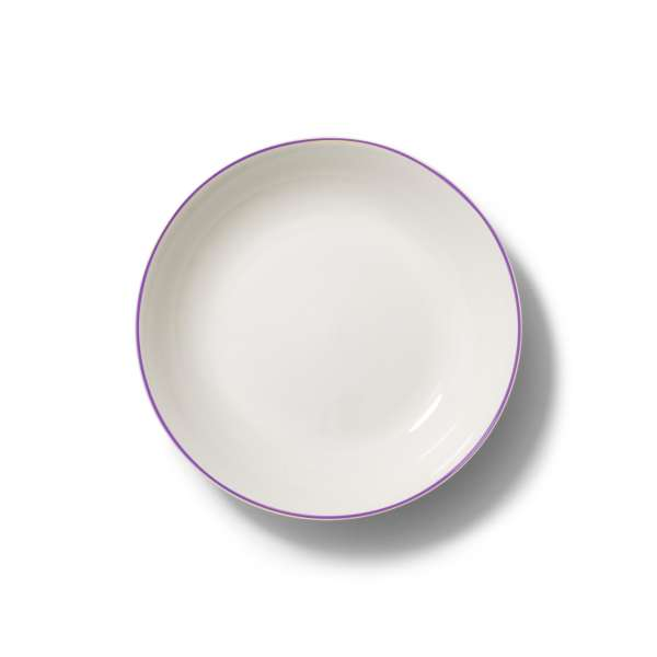 Suppenteller 22,5 cm violett