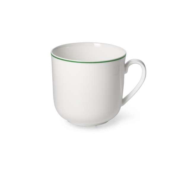 Becher m. Henkel 0,32 l grün