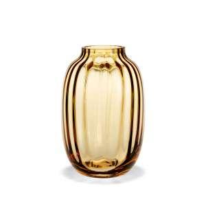 Vase 25,5 cm amber