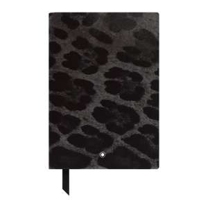 Notizbuch #146 blanko, Animal Print Panther
