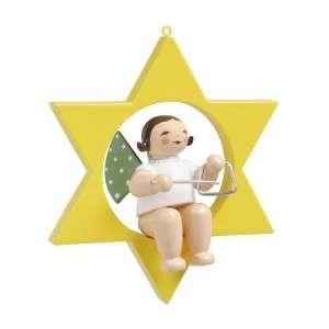 Engel m. Triangel im Stern