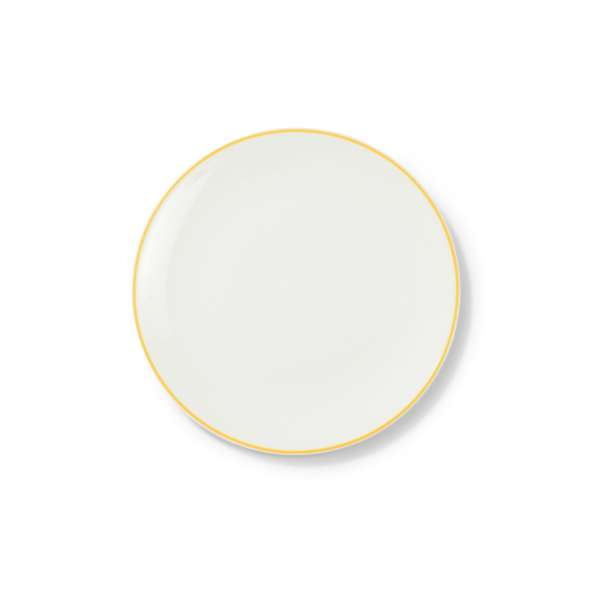 Frühstücksteller 21 cm gelb