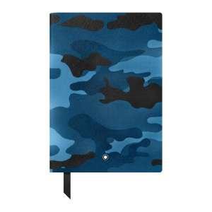 Notizbuch #146 liniert, Camouflage blue