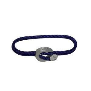 Armband Navy Blue Humanium Metal S