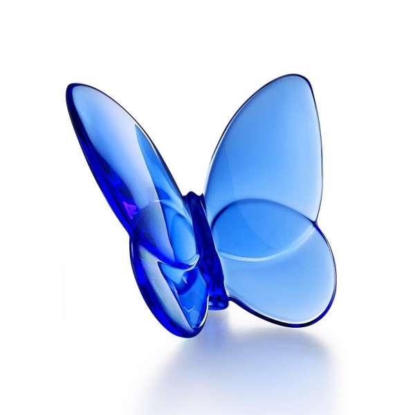 Schmetterling 6,5x8 cm blau