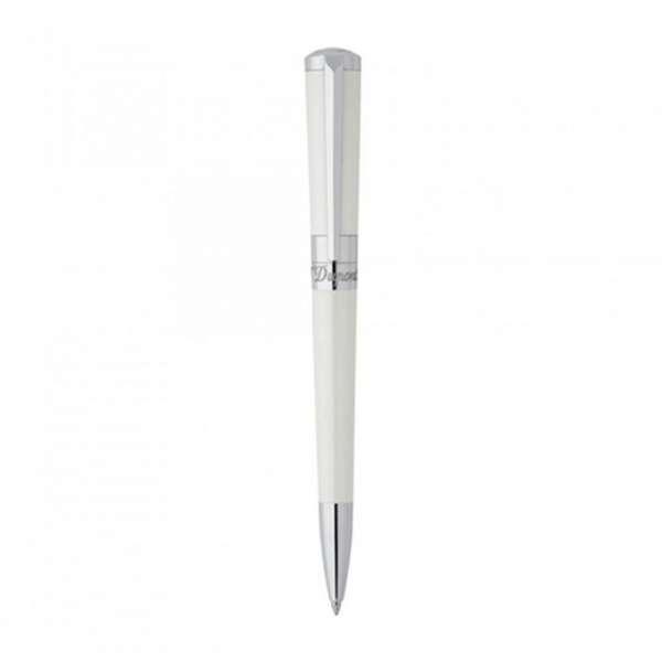 Kugelschreiber Mini Lack weiß Palladium