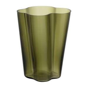 Vase 27 cm moosgrün