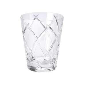 Universalglas 0,33 l klar cross