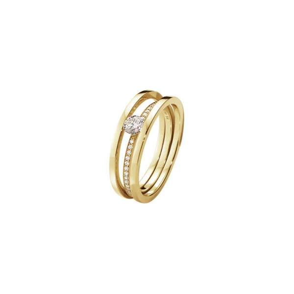 Ring W55 Brillanten 0,39 ct Gelbgold 750