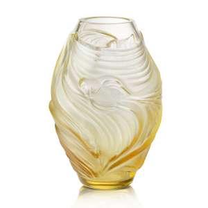 Vase 17 cm bernstein